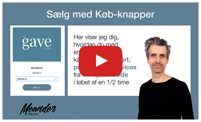 Køb-knap step-by-step Video-Guide